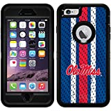 Mississippi - Jersey design on Black OtterBox Defender Series Case for iPhone 6 Plus and iPhone 6s Plus