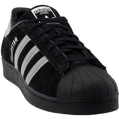 adidas superstar black core