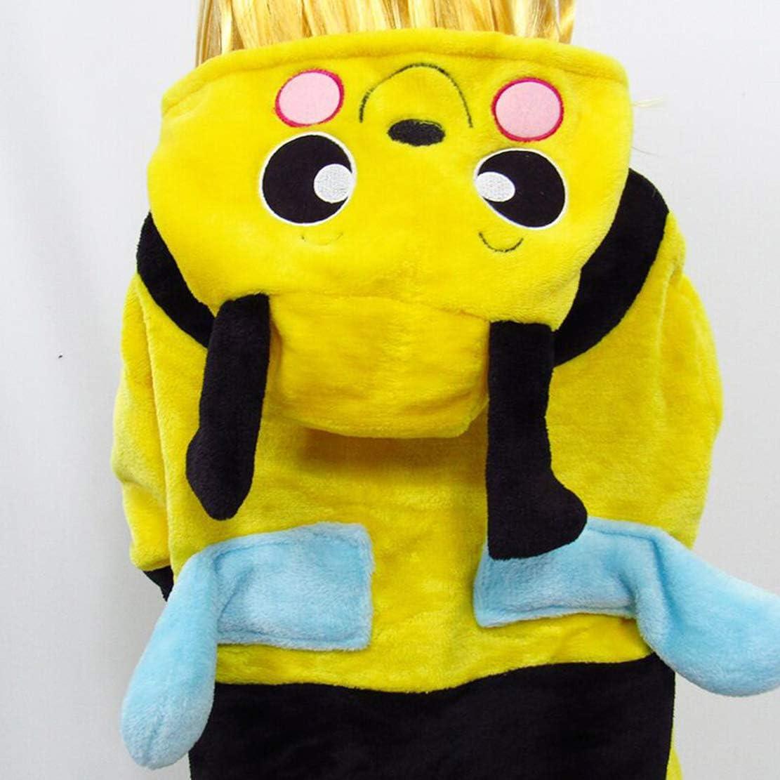Womens Onesies//Girls Sleepsuits Bee//Kangaroo Pyjamas Cosplay Costume Loungewear Halloween Carnival Animal Nightwear Homewear Pajamas Overalls