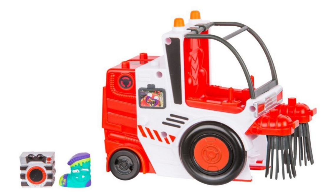Grossery Gang S3 Putrid Power The Clean Team Street Sweeper Playset Collector