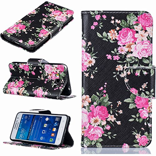 Leather Shell Casemate Yiizy Wallet Case Case Stand Pu Protective G530 Shell Note Flap Skin Slot Cover Bright Housing Design Grand Card Cover Bumper Rose Flip Prime Premium Case Slim UwCadwq