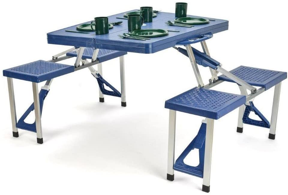 Trademark Innovations Portable Folding Picnic Table