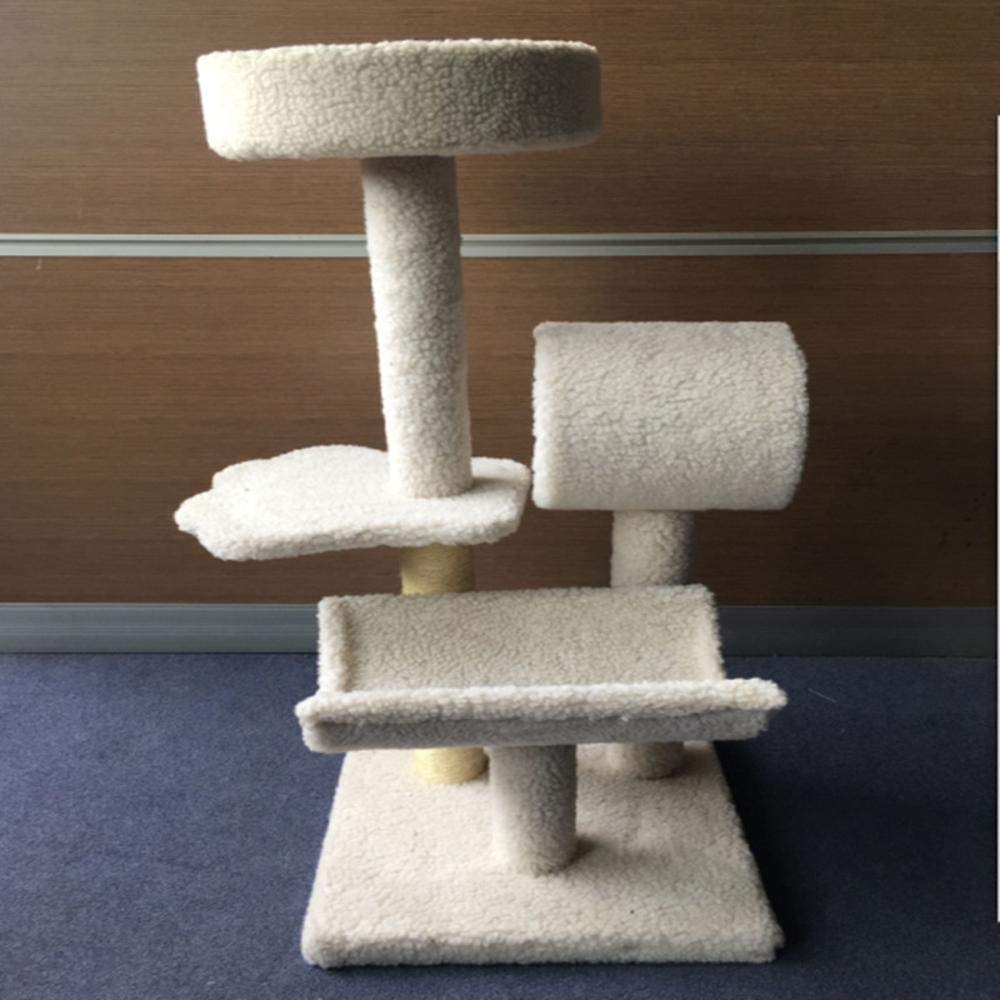 Deluxe Multi Cat Tower cat Trees Towers Medium-Sized Cat Cat Toy Pet Supplies 41  41  91