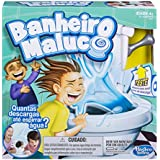 Hasbro Gaming Jogo Gaming Banheiro Maluco Branco/Azul
