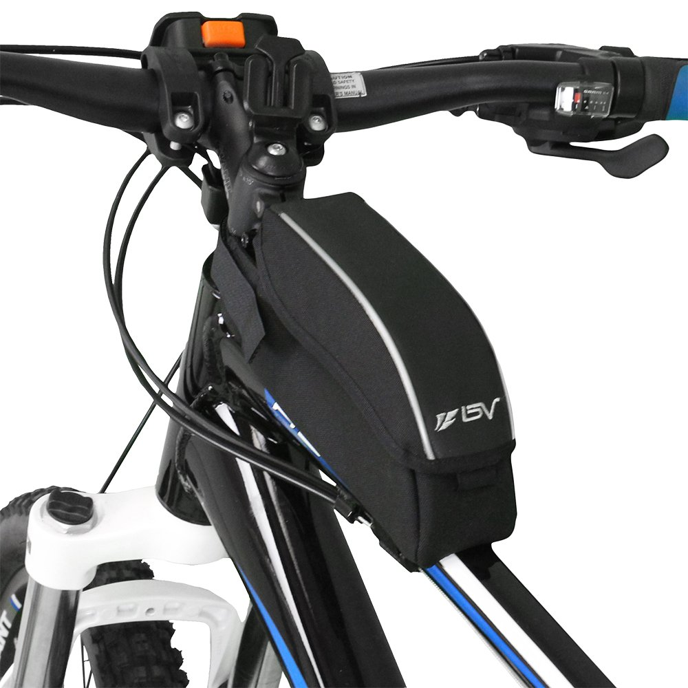 Amazon.com : BV Bicycle Wedge Top Tube Bag With Flip Top Opening : Bike  Handlebar Bags : Sports U0026 Outdoors