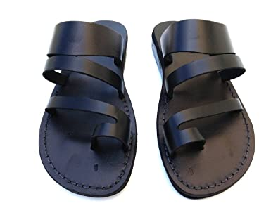 84870c39565d10 SANDALIM Men s Genuine Leather Sandals