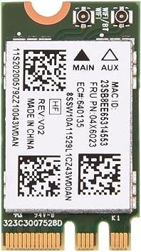 Amazon.com: Mini NGFF/M2 Tarjeta WiFi inalámbrico, 2.4G + 5G ...