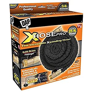 Where can you read reviews and complaints about Xhose expandable garden hoses?