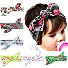 Quest Sweet 6 Pieces Baby's Headbands Girl's Headband Head Wear Flower (Good Quality)