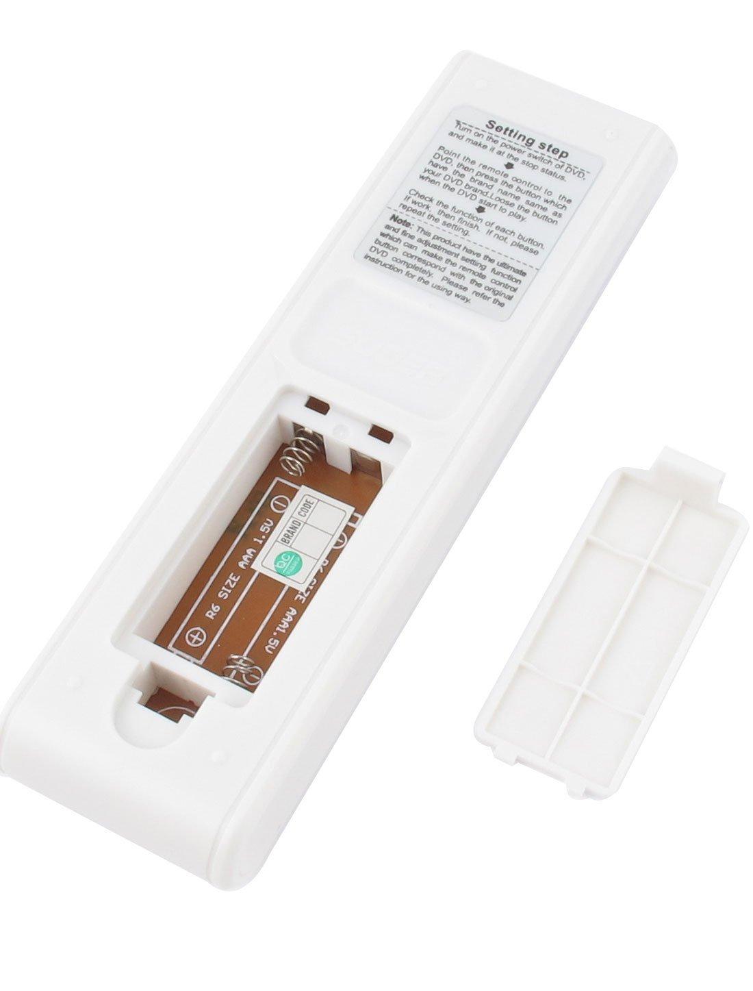 eDealMax SON-290E de plástico Blanco de Shell de la batería de TV Con tecnología de Control remoto Para DVD