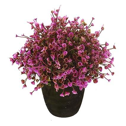VGIA home decor Purple artificial retro potted plant,plastic flower Gl Vase Amazon Ca on amazon wallets, amazon wine decanter, amazon garden stools, amazon frames,