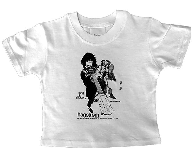 Para guitarra eléctrica Hagstrom 1967 de Frank de niños T-camiseta de manga corta para 5-6 old año: Amazon.es: Ropa y accesorios