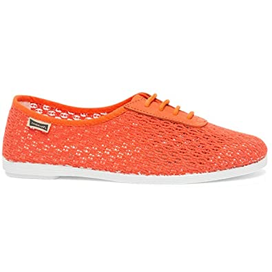 Maianas Zapatillas FATIMA Rejilla para Mujer (40 EU, Naranja) Maians