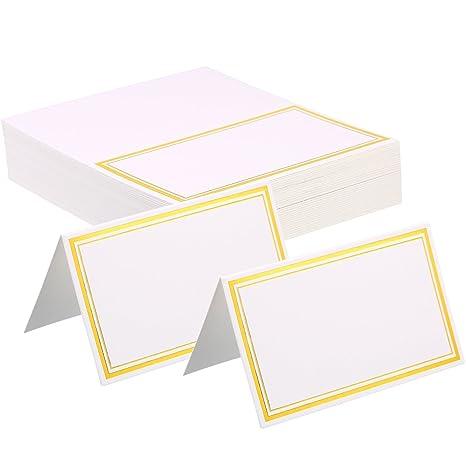 Amazon.com: zhanmai lugar tarjetas de mesa con tienda de ...