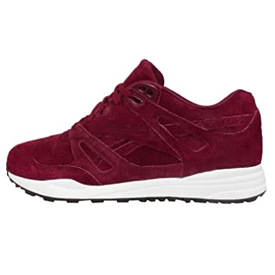 Reebok VENTILATOR PERFORMANCE Red Suede Leather Men Sneakers Shoes  Hexalite  Amazon.co.uk  Sports   Outdoors 391e216cb
