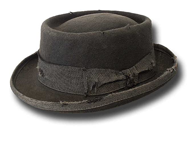 Cappello uomo Pork Pie Stone Hat  Amazon.it  Handmade 01f6bfa5a07a