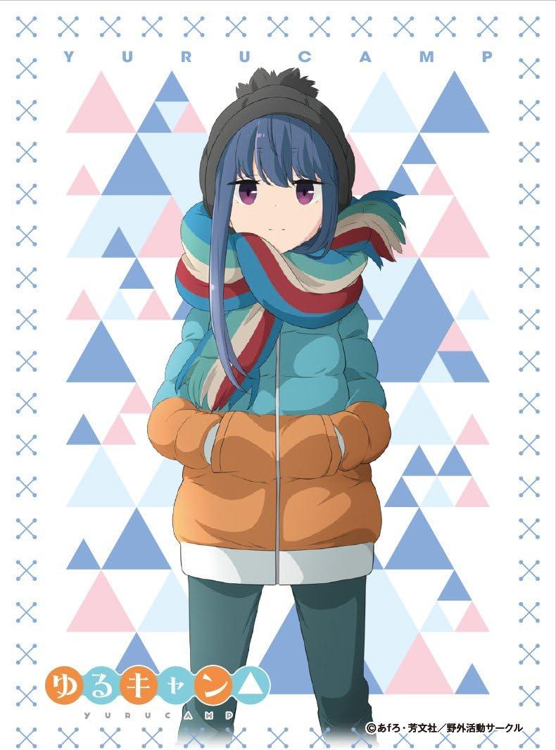 Amazon キャラクタースリーブ ゆるキャン 志摩リン En 574