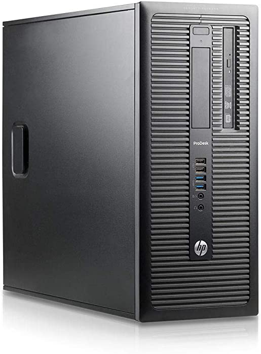 Fastest HP Desktop Business Tower Computer PC (Intel Ci5-4570, 16GB Ram, 2TB HDD + 120GB SSD, Wireless WiFi, Display Port, USB 3.0) Win 10 Pro (Renewed)