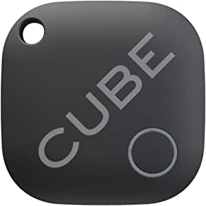Cube Key Finder Smart Tracker Bluetooth Tracker for Dogs, Kids, Cats, Luggage, Wallet, with app for Phone, Replaceable Battery Waterproof Tracking Device
