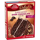 General Mills Betty Crocker Dark Chocolate Cake, 15.25 oz.