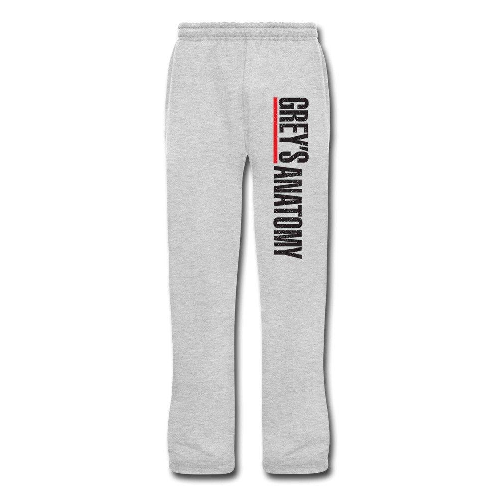 Amazon.com: JeFF Men\'s Grey\'s Anatomy Cotton Sweatpants Running ...