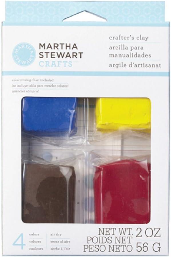 Set of 4 Wilton Brands Inc Martha Stewart 56 g Basic Clay Assorted