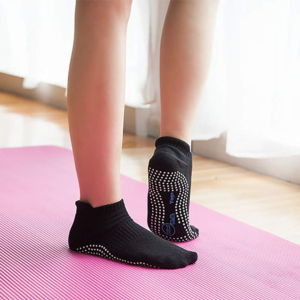 Calzini alla Caviglia Unisex Antiscivolo Barre Yoga Pilates Hospital Calze con impugnature per Donna Uomo