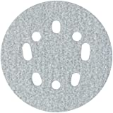 """Norton 3X High Performance Hook and Sand Paper Disc with 5 and 8 Universal Vac Hole, Ceramic Alumina, 5"""" Diameter, Grit P100 Medium  (Pack of 10)"""