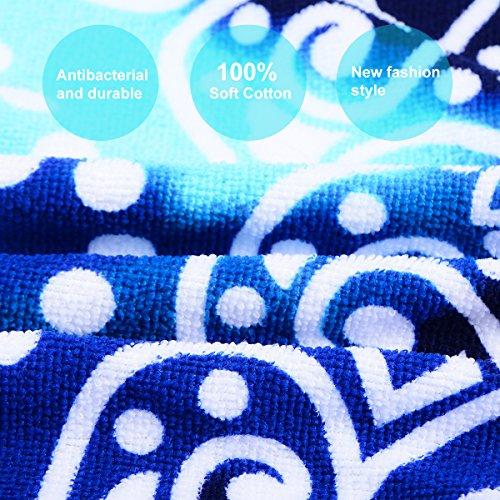 Ricdecor Mandala Towel - closeup