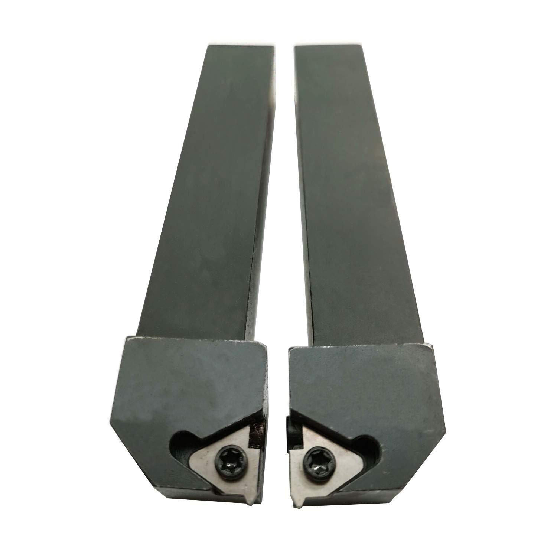 Micro 100 2.500 AlTiN Coated Right Hand Quick Change Boring Tool.200 Bore Dia 1.00 Bore Depth.030 An QBT-2001000X