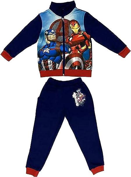 Pantalone Spiderman Bambino Misura da 3 a 8 Anni Interno Felpato