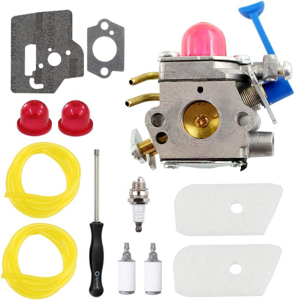 Carburetor Kit Fits Husqvarna 124L 128C 128L 128LD 128RJ Trimmer Zama C1Q-W40A