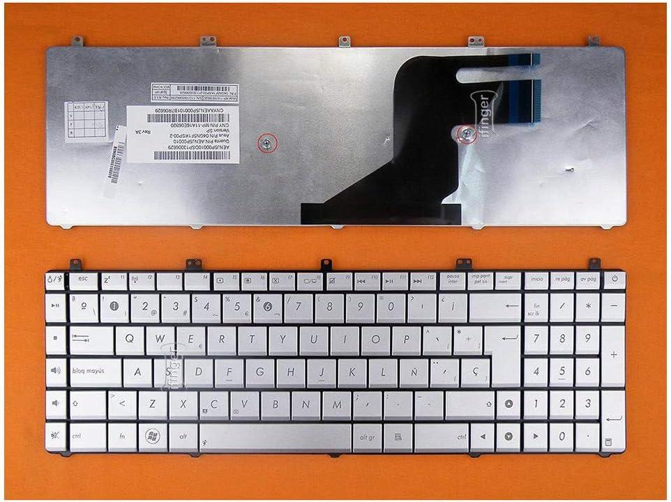 IFINGER Teclado en ESPAÑOL Compatible para ASUS N55S : Amazon ...