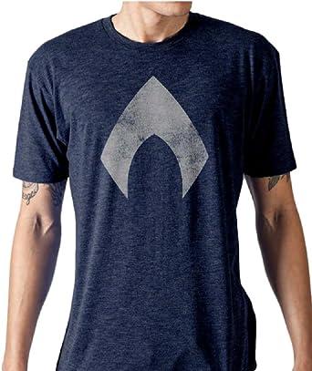 DC Comics Aquaman Logo T-Shirt Uomo