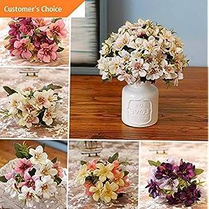 Hebel 1 Bouquet Beautiful Artificial Plastic Flower Fake Plant Home Office Decor Cal | Model ARTFCL - 116 | 19