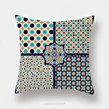Custom Satin Pillowcase Protector Seamless Islamic Patterns Set In Color Vector Geometrical Texture 288949067 Pillow Case Covers Decorative