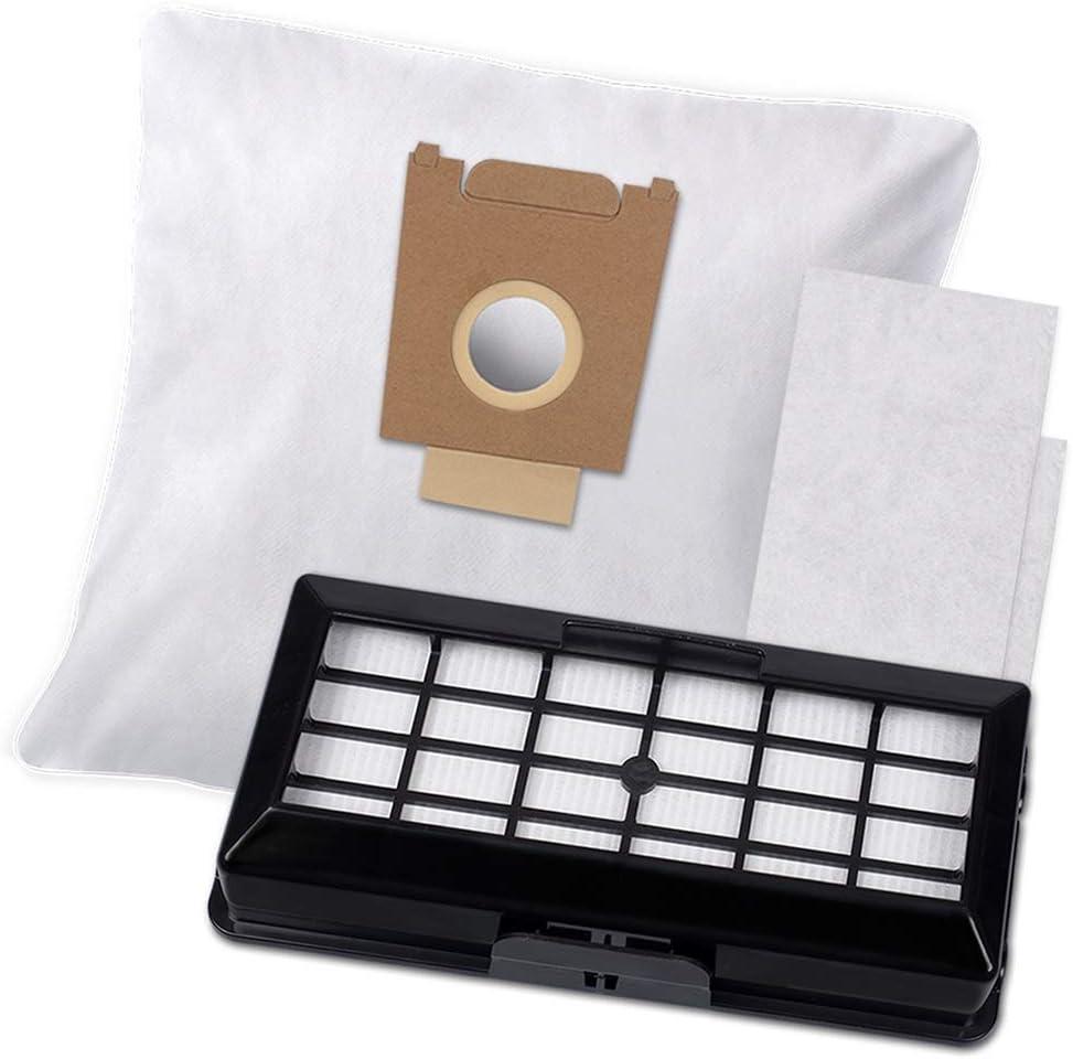 10 bolsas para aspiradora y 1 filtro HEPA para aspiradoras Siemens VS07G2222/15: Amazon.es: Hogar