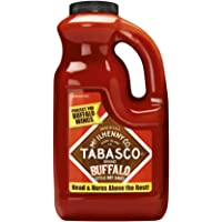 TABASCO Buffalo Style Pepper Sauce, Thick and Tangy, 1.89 l