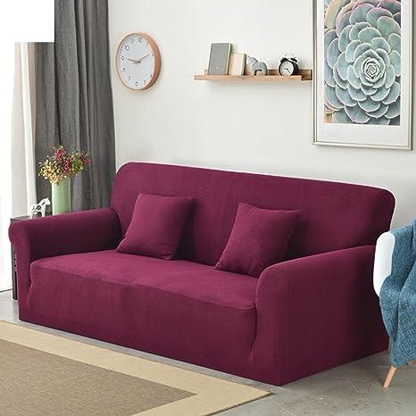 Amazon.com: Fundas de sofá elástico funda para sofá de sala ...