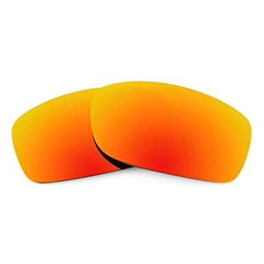 20374018c9 Revant Replacement Lenses for Oakley Fives Squared Polarized Fire Red  MirrorShield  Amazon.in  Clothing   Accessories