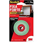 Fita Dupla Face 3M Scotch Fixa Forte Fixação Extrema - 24 mm x 2 m, Scotch, HB004492250