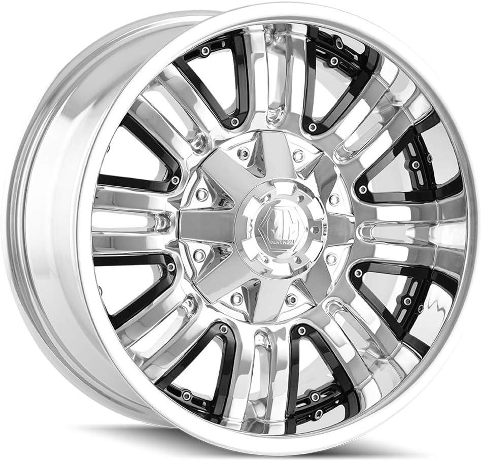 Mayhem 8070 Assault 18x9 5x114.3//5x127 18mm PVD Chrome Wheel Rim
