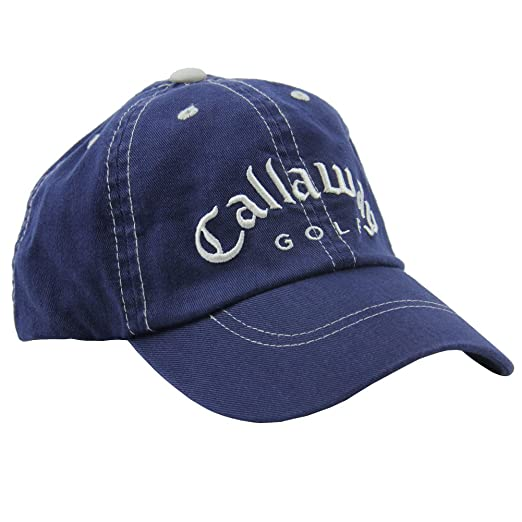 Amazon Com Callaway Golf X Series Junior Fitted Cap Hat Navy
