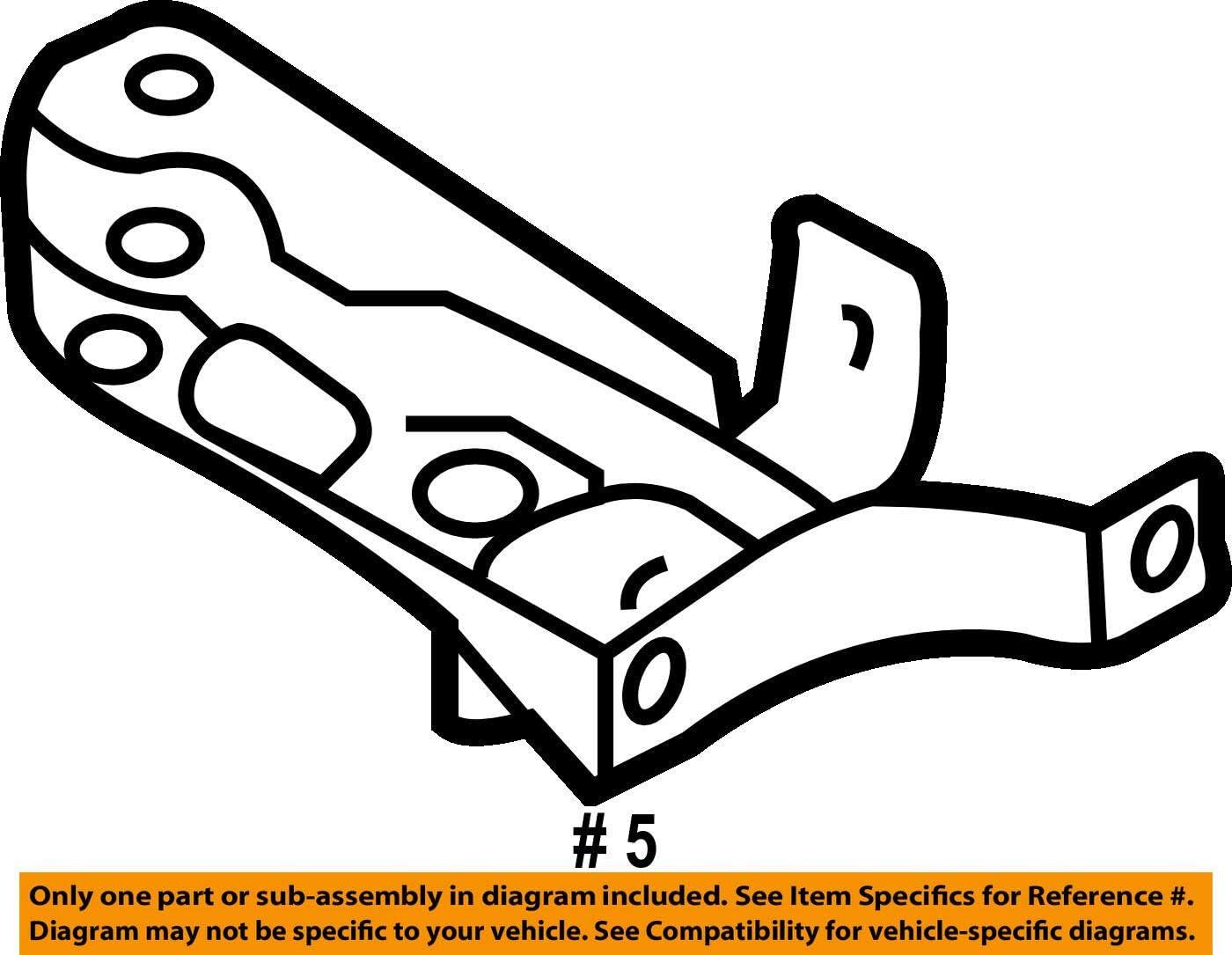 Genuine Brace right AUDI A3 S3 Sportback Lim quattro 8P1 8PA 8P0821136A