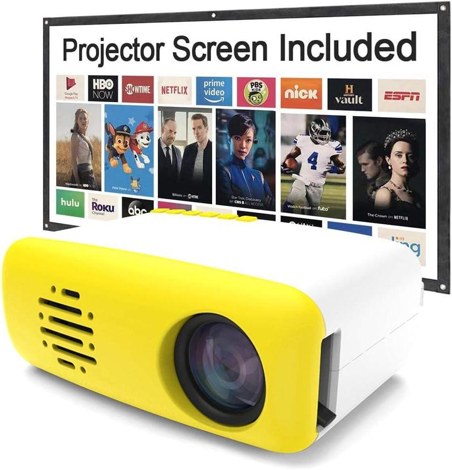 whelsara Proyector HD Proyector AV TV Interfaz Control remoto ...