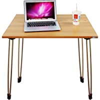 Need Folding Computer Desk 80cm Writing Table for Small Spaces Narrow Desk Black AC4CB