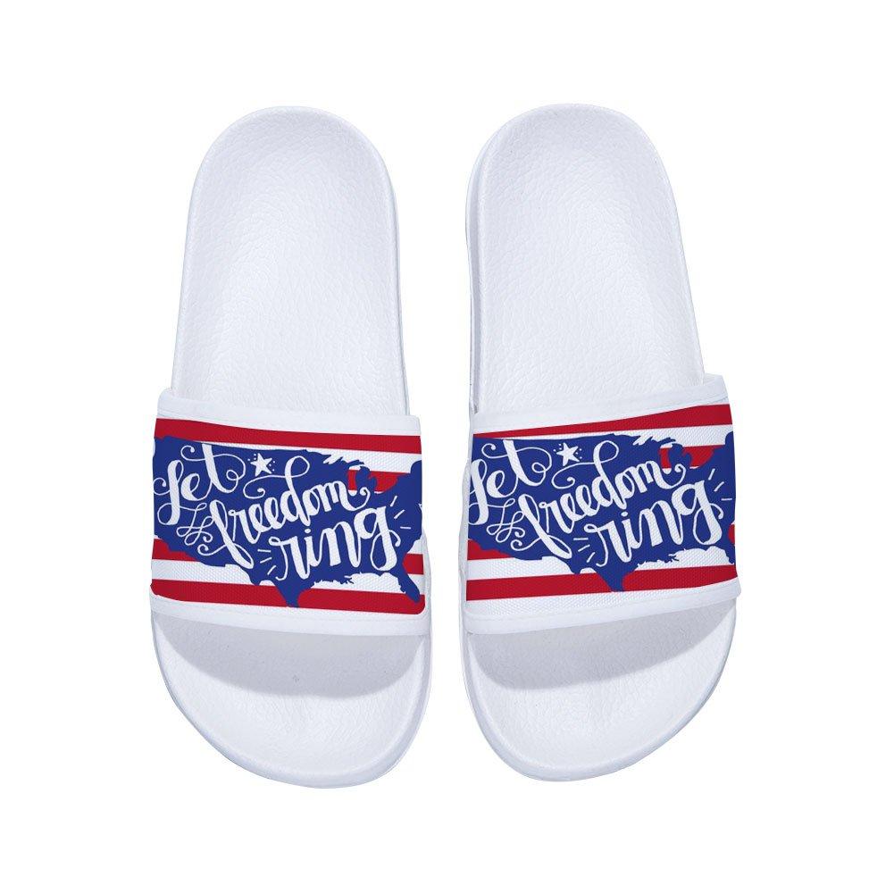 Drew Toby Sandals for Boys Girls Anti-Slip Bath Slippers Shower Shoes Stylish Beach Sandals