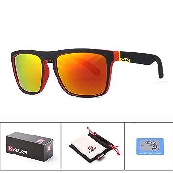 KOMNY Gafas de Sol del Tipo de la Moda de Kdeam Gafas de Sol ...