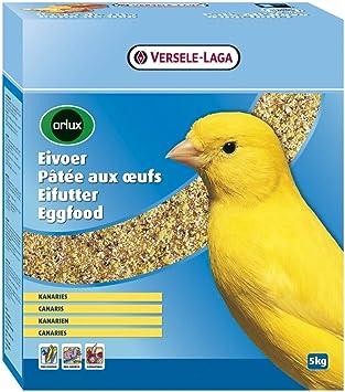 Versele Laga Pastoncino All Uovo Secco Per Canarini Orlux Kg 5 Amazon It Prodotti Per Animali Domestici