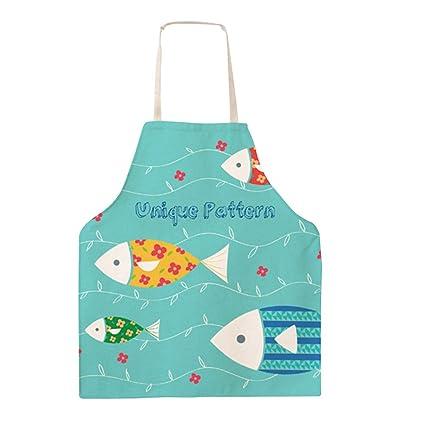 Grembiule Da Cucina Per Bambini Fai Da Te.Grembiule Da Cucina Grazioso In Tela Di Cotone Da Donna Idea Regalo Per Adulti E Bambini Cotone Da Adulti